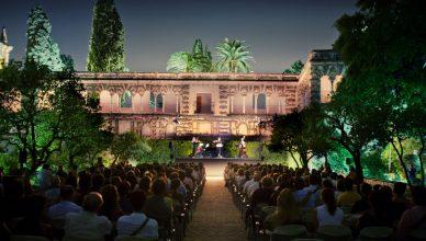 Concierto en el Real Alcázar de Sevilla