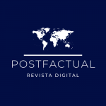 Logotipo de Postfactual. Revista Digital